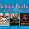 2017-18 School Performances Schedule
