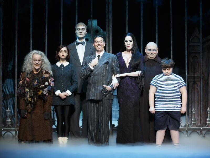 The Addams Family Plays Jacksonville's Times-Union Center May 2, 2014