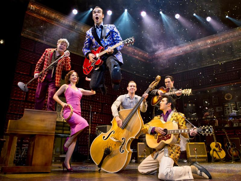 Million Dollar Quartet Plays Jacksonville's Times-Union Center April 22-27, 2014