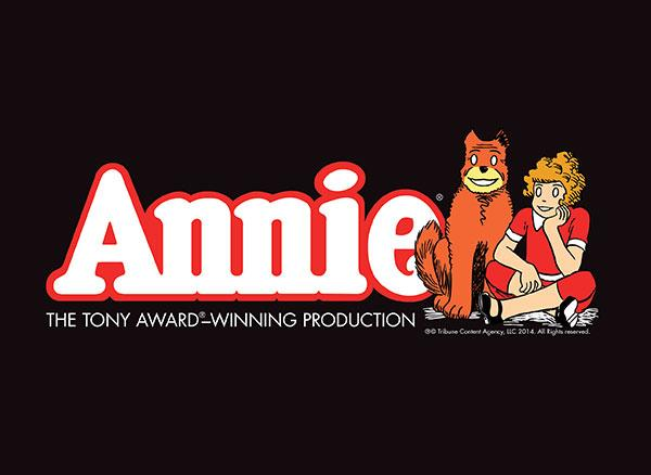 Tickets On Sale Friday September 12 for ANNIE, Playing in Jacksonville October 21-26, 2014