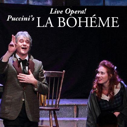 Puccini's La Boheme Opera