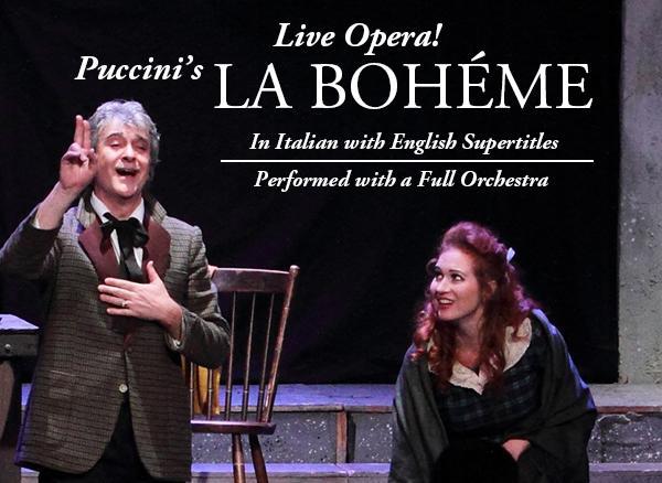 FSCJ Artist Series Presents Puccini's La Boheme Opera on January 29, 2015