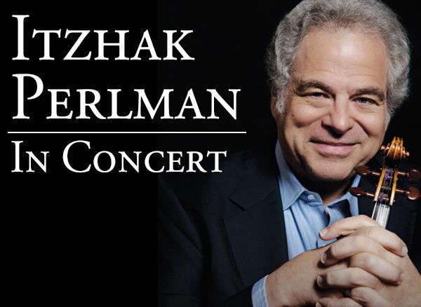 FSCJ Artist Series Presents Itzhak Perlman in Concert on March 24, 2015