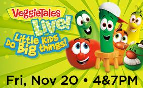 FSCJ Artist Series Presents Veggie Tales Live! on November 20, 2015