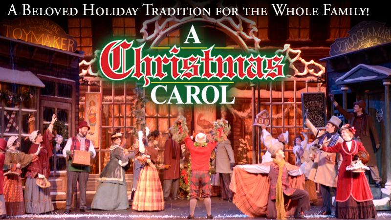 FSCJ Artist Series Presents A Christmas Carol on December 22, 2015!