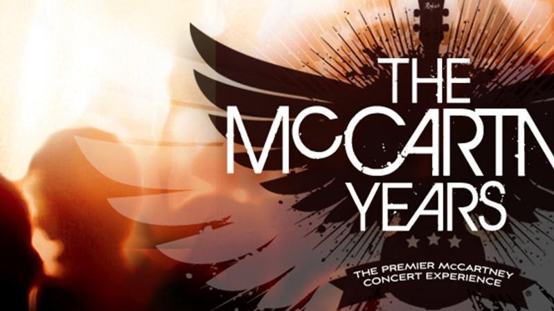 FSCJ Artist Series Presents The McCartney Years on February 28, 2016