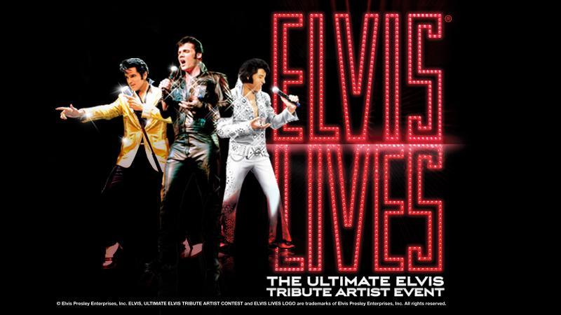 FSCJ Artist Series Presents Elvis Lives! on January 24, 2017!