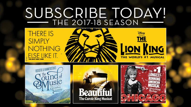 FSCJ Artist Series Announces 2017-18 Broadway in Jacksonville Season!