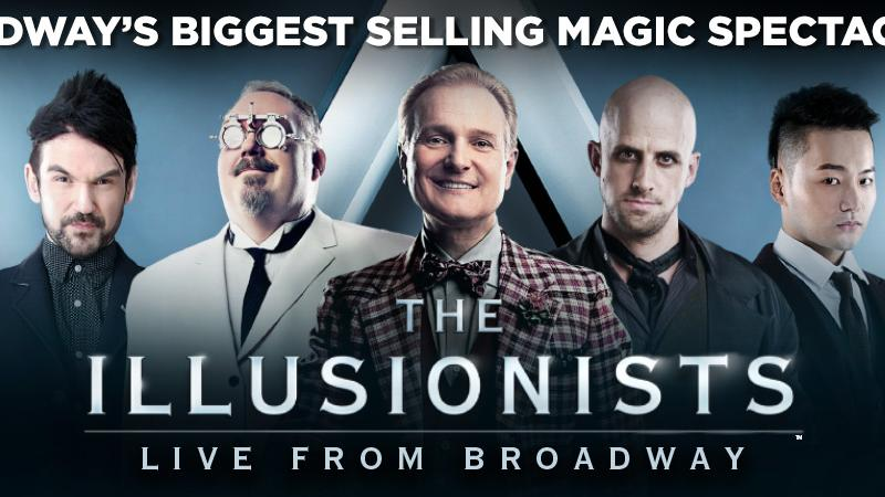 FSCJ Artist Series Presents The Illusionists, March 2, 2018 at 8 p.m.!