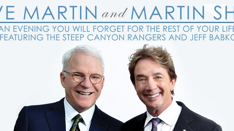 FSCJ Artist Series Presents Steve Martin & Martin Short, March 9 at 8 p.m.!