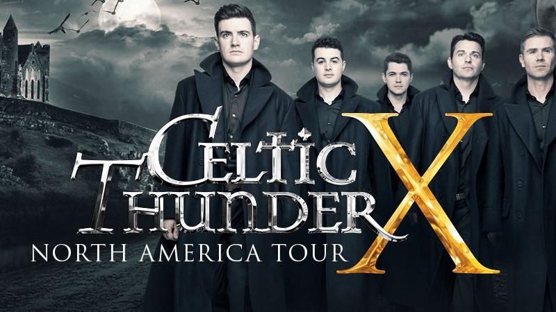 FSCJ Artist Series presents Celtic Thunder X!