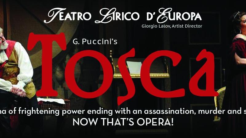 FSCJ Artist Series Presents TOSCA The Opera!